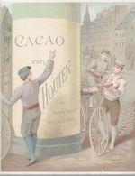 CHROMO CHOCOLAT VAN HOUTEN  LES VIEUX VELOS - Van Houten