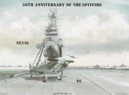 Nevis Hb 8sd SIN DENTAR - St.Kitts Y Nevis ( 1983-...)