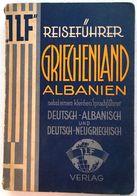 REISEFÜHRER GRIECHENLAND ALBANIEN   GREECE AND  ALBANIA   1920's - Greece