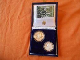 ITALIA  - LOTTO    MONETE ARGENTO   500 LIRE  COMMEMORATIVE - 1946-… : République