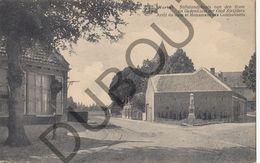 Postkaart - Carte Postale - Wortel -  Stilstandplaats Van Den Tram En Gedenkzuil Der Oudstrijders (B552) - Hoogstraten
