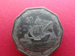 Belize  1 Dollar  2000  Km 99 - Belize