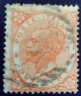 Italie Italy Italia 1863 Victor Emmanuel II Yvert 21 O Used Usato - 1861-78 Victor Emmanuel II.