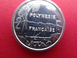 Polynesie  Francaise  2 Francs  1984  Km 10 - Polynésie Française