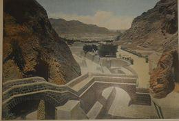 La Mer Rouge. Aden. Les Citernes. Photogravure Fin XIXe. - Prints & Engravings