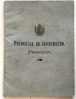 PASSEPORT  PASSPORT   KING FRANZ JOSEF  1902. - Historical Documents
