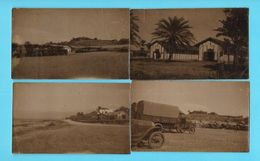6 MINI-PHOTOS---MILITARIA----BEYROUTH---( Camp Militaire + Camions )--voir 2 Scans - Guerre, Militaire
