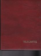 Classeur Télécartes Avec 25 Feuilles Pour 200 Télécartes - Telefoonkaarten