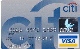 GREECE - CitiBank Visa(Axalto), 02/05, Used - Carte Di Credito (scadenza Min. 10 Anni)