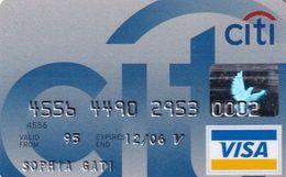 GREECE - CitiBank Visa(Schlumberger), 05/03, Used - Carte Di Credito (scadenza Min. 10 Anni)