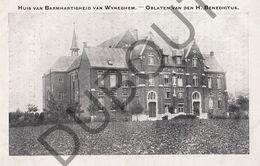 Postkaart - Carte Postale - Wijnegem - Huis Van Barmhartigheid - Oblaten Van Den H. Benedictus   (B515) - Wijnegem