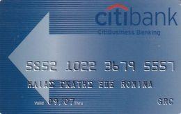 GREECE - CitiBank CitiBusiness Banking(AustriaCard), 05/06, Used - Carte Di Credito (scadenza Min. 10 Anni)