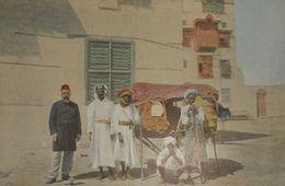 La Mer Rouge. Djeddah. Palanquin Pour Les Pélerins De La Mecque.. Photogravure Fin XIXe. - Prints & Engravings