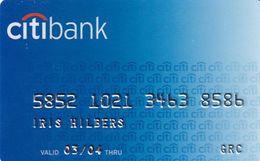 GREECE - CitiBank Debit Card(Saetic), 12/03, Used - Carte Di Credito (scadenza Min. 10 Anni)