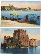 Lago Maggiore , Angera , I Castelli Di Cannero (Stab.Graf. C. Capello) - Verbania