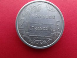 Polynesie  Francaise  2 Francs  1979  Km 10 - Polynésie Française