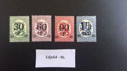 1921 Finland Frankeerzegels Opdruk Nieuwe Waarde - Finland