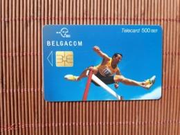 Phonecard Sport Belgium 500 BEF NH 30.06.2003 Low Issue Used  Rare - Belgique