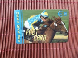 Horse Fast Prepaidcard Belgium (Mint,Neuve) 2 Scans Rare - Belgique