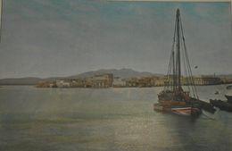 La Mer Rouge. Souakim. Vue Générale. Photogravure Fin XIXe. - Prints & Engravings