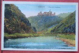 Vianden - L'Our Et Le Château - Vianden