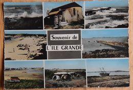 22 : Plemeur-Bodou - Souvenir De L'Ile Grande - CPSM Format CPM Colorisée - Multivue - Multivues - Multi Vues -(n°18056) - Pleumeur-Bodou