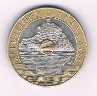 20 FRANCS 1992 (mont Sint Michel) FRANKRIJK /5481/ - France