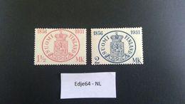 1931 Finland Finse Postzegels 75 Jaar - Finland