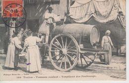 CPA Toulon - Tonneau Roulant - Torpilleur Des Faubourgs (très Belle Scène) - Toulon