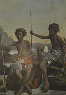 La Mer Rouge. Guerriers Ababdeh. Photogravure Fin XIXe. - Prints & Engravings