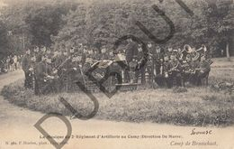 Postkaart - Carte Postale - Brasschaat - La Musique Du 2e Régiment D'Artillerie Au Camp - Direction De Merre   (B577) - Brasschaat