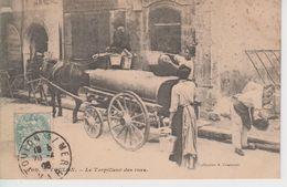 CPA Toulon - Le Torpilleur Des Rues (très Belle Animation) - Toulon