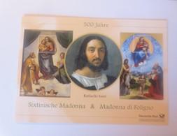 Sonderblatt  Raffaello Santi Sixtinische Madonna & Madonna Di Foligno 2012 ♥ - Künste