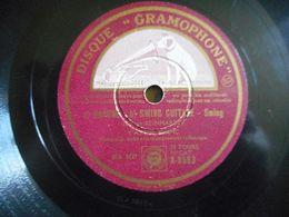 78T SWING RYTHME FUTUR DJANGO REINHARDT YVONNE BLANC DAPHNE SWING GUITARE - 78 T - Discos Para Fonógrafos
