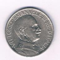 2 LIRE 1923 R ITALIE /5492/ - 1900-1946 : Victor Emmanuel III & Umberto II