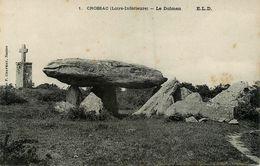 Crossac * Le Dolmen * Thème Monolithe Mégalithe Pierre Menhir - Frankreich