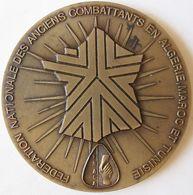 Médaille Fédération Nationale Des Anciens Combattants En Algérie, Maroc Et Tunisie 1958 – 1988 , Par Fraisse - Other