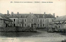 Crossac * Château De Bélébat * Châteaux De La Loire Inférieure N°451 - France