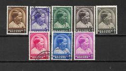 BELGIO - 1936 - N, 438/45 USATI (N. 438*-441*-442*-445*) (CATALOGO UNIFICATO) - Belgium