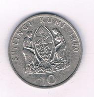 10 SHILLINGI 1990 TANZANIA /5494/ - Tansania