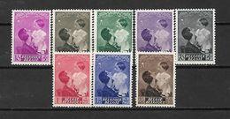 BELGIO - 1937 - N. 447/54* (CATALOGO UNIFICATO) - Belgium