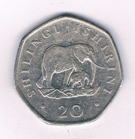 20 SHILLINGI 1991  TANZANIA /5495/ - Tanzanie