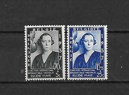 BELGIO - 1937 - N. 456/57** (CATALOGO UNIFICATO) - Belgium