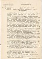 Préfet Des Vosges ,concerne La Main D'oeuvre Coloniale Et étrangére , 1916 - Dokumente