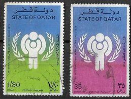 Qatar 1979 International Year Of The Child Complete Set Used - Qatar