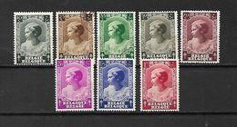 BELGIO - 1937 - N. 458/65** (CATALOGO UNIFICATO) - Belgium