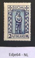1938 Finland Vrijheidsoorlog - Unused Stamps