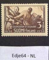 1938 Finland Emigratie Naar Amerika - Finland