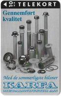 Denmark - KTAS - Karfa - TDKP150 - 06.1995, 10kr, 1.000ex, Used - Danemark
