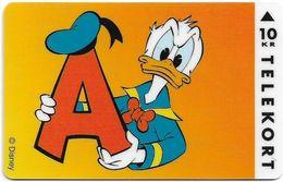 Denmark - KTAS - Donald Duck - TDKP172 - 09.1995, 10kr, 1.500ex, Used - Danemark